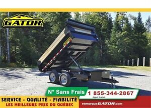 2019 GATOR DOMPEUR 6 X 10 7 000 LBS DECK OVER