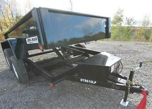 2017 Bri-Mark 6x10 Dump Trailer