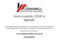 Rooms available TODAY in SALTLEY