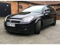 Vauxhall astra van black 1.9 8v