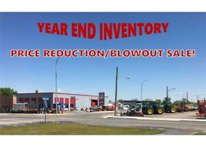YEAR-END INVENTORY PRICE REDUCTION / BLOWOUT SALE