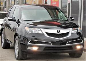 2011 Acura MDX Tech Pkg*LEATHER*ROOF*3.7L*6CYL*AWD*7PASS*NAV