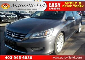 2013 HONDA ACCORD TOURING LEATHER NAVIGATION BACKUP CAM SUNROOF