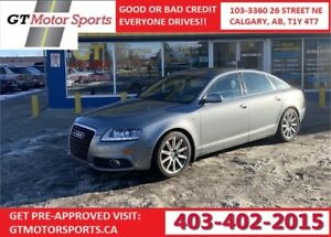 2010 Audi A6 Special Edition | AWD | $0 DOWN - EVERYONE APPROVED