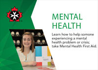 Mental Health First Aid December 12-13 in Cornwall