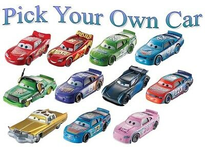 NEW! Disney/Pixar Cars 3 -  1:55 Scale Die-cast Vehicle Select Your Own Vehicle