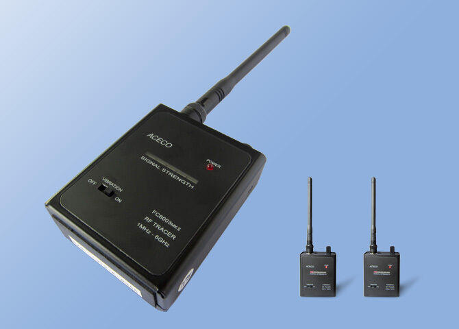 Aceco FC-6003 MKII RF signal Detector from 1MHz to 6GHz Professional Bug Sweeper