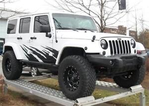 2016 Jeep WRANGLER UNLIMITED Backcountry Fox Shocks Fuel Rims To
