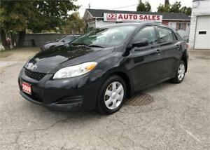 2009 Toyota Matrix XR/Automatic/Certified/AccidentFree/Gas Saver