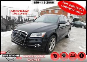 AUDI Q5 SLINE PREMIUM PLUS 2013 (BLUETOOTH TOIT PANORAMIQUE)