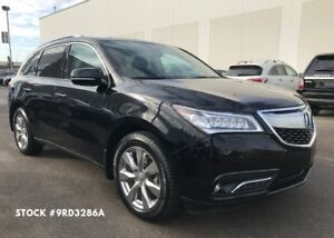 2016 Acura MDX Elite, AWD, Remote Start, Backup Cam, DVD