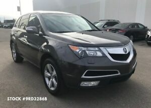 2012 Acura MDX Tech, AWD, Navigation, Backup Cam, 3rd Row