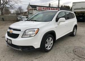 2013 Chevrolet Orlando Certified/Automatic/7 Passenger/1 Owner