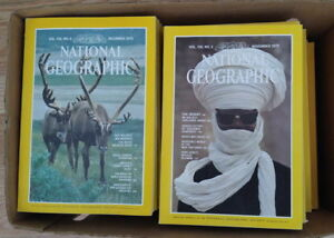 National Geographic Magazines 1978 to 2010