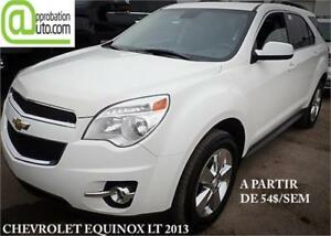 2013 Chevrolet Equinox LT, À PARTIR DE 54$/SEM. 100% APPROUVÉ !