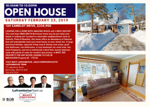 124 Camelot Dr, Open House Sat Feb 23