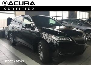 2015 Acura MDX CPO, Navi, Bluetooth, Backup Cam, AWD, 3rd Row Se
