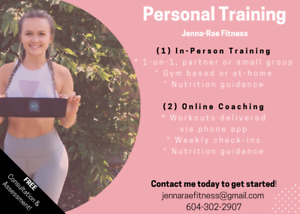 Online Personal Training/Fitness Coaching