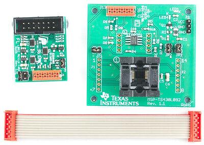 Ti Msp430 Target Board Msp-ts430l092 Zif Includes Two Msp430l092 Ic