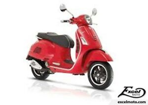2018 VESPA GTS 300 SUPER ABS E4 ROUGE