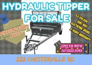 10x5 HYDRAULIC TIPPER TRAILER
