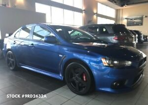 2012 Mitsubishi LANCER EVOLUTION GSR (M5), Bluetooth, AWD, Heate