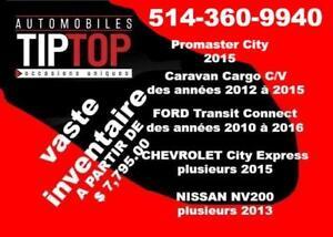 TRANSIT CONNECT - NV200 - CITY EXPRESS - GRAND CARAVAN CARGO