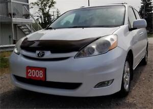2008 Toyota Sienna LE LOW KM 2 YEARS WAR DVD PW SLIDING DOOR