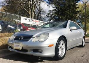 2004 MERCEDES BENZ C230 COUPE SUPER CLEAN PANO ROOF!