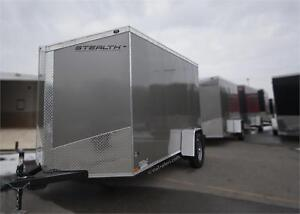 Stealth Trailers SALE: Titan SE 6x12 with RAMP