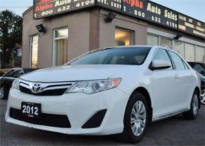 2012 Toyota Camry LE |NO ACCIDENTS|CERTIFIED & WARRANTY*
