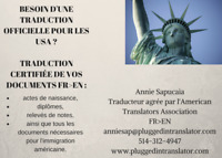 ATA-certified French to English translations