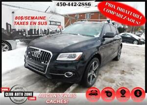 AUDI Q5 TECHNIK SLINE 2015 AWD (NAVIGATION BLUETOOTH TOIT PANO)