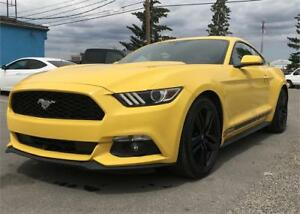 2015 Ford Mustang EcoBoost $189 BI-WEEKLY BackUp Cam, BlueTooth