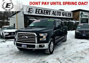 2015 Ford F-150 XTR XLT CREW CAB WITH REVERSE CAMERA