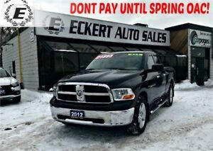 2012 Ram 1500 SLT 4X4 QUAD CAB WITH OVER $5000 IN UPGRADES