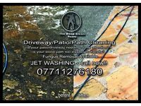 Driveway cleaning , jetwashing , patio cleaning , garden cleaning , driveway jetwashing