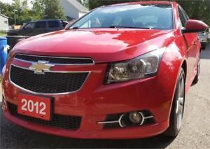 2012 Chevrolet Cruze LT Turbo+ wis  2 years warranty