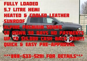 2014 Ram 1500 Sport 4x4 Crew Cab ~ LOADED ~ Leather ~ $241 b/w