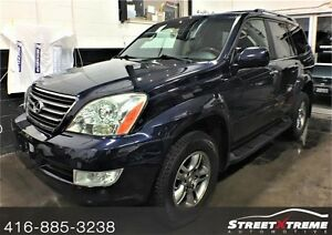 2008 Lexus GX 470 ALL WHEEL DRIVE w/ NAVI, BACKUP CAM, 8 SEATER