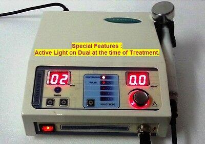 1 Mhz Ultrasound Therapy Machine Portable Chiropractic Deep Heat Tissue Sfg