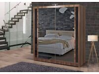 BEST QUALITY NEW CHICAGO MIRRORED SLIDING WARDROBE 👌 FAST DELIVERY WITH 1 YEAR WARRANTY