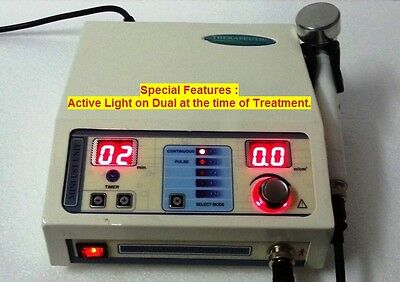 New Professional Ultrasound Ultrasonic Therapy Machine Pain Management 1mhz Yriw