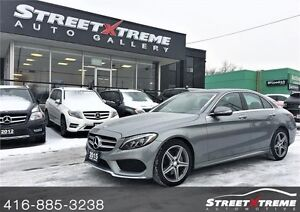 2015 Mercedes-Benz C400 !!!FULLY LOADED AWD & CLEAN CARPROOF!!!