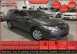 2010 Toyota Camry LE Automatic / 4Cylinder/ Jamais Accidente/ AC