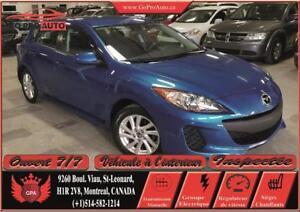MAZDA CANADA/100000KM 2013 Mazda Mazda3 GS-SKY 6vitesse / Ac /