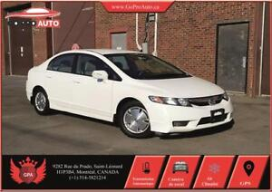 2009 Honda Civic Hybrid (A/C+MAGS +GPS+CAMERA+GROUPE ELECT+FULL)