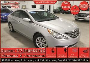 2011 Hyundai Sonata GL  Jamais Accidente / Automatique / Ac /
