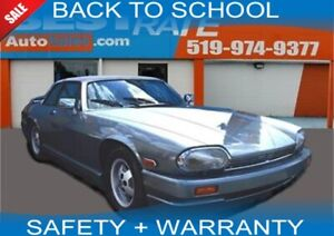 1987 Jaguar XJ-SC V12, LEATHER SEATS, CONVERTIBLE