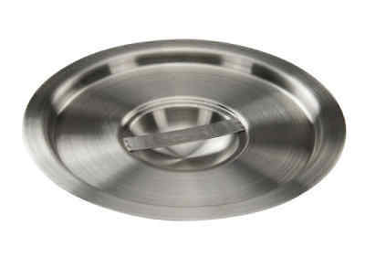Winco Bamn-4.25c 7-14-inch 4.25-quart Stainless Steel Bain Marie Pot Cover Ns